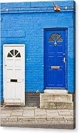 Neighboring Doors Acrylic Print by Tom Gowanlock