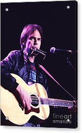 Neil Young 1986 #3 Acrylic Print by Chris Walter