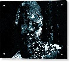 Nelson Mandela Life Journey Acrylic Print by Brian Reaves