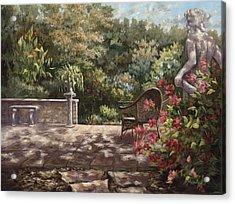 Neptunes Garden Acrylic Print by Jose Rodriguez