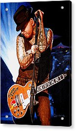 Ness At His Best Acrylic Print by Al  Molina