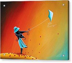Never Let Go Acrylic Print by Cindy Thornton