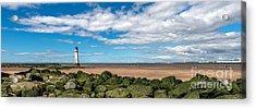New Brighton Lighthouse  Acrylic Print by Adrian Evans