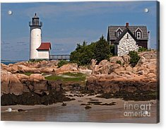 New England Light Acrylic Print by Robert Pilkington