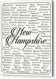 New Hampshire Acrylic Print by Finlay McNevin