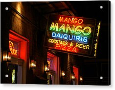 New Orleans Daiquiris Acrylic Print by Peter Verdnik