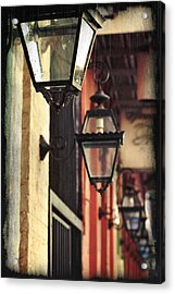 New Orleans Gas Lamps Acrylic Print by Jarrod Erbe