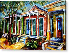New Orleans Plain And Fancy Acrylic Print by Diane Millsap