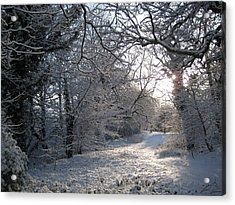 New Year's Day Morning. Acrylic Print by Jamie Patterson