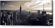 New York Acrylic Print by Dave Bowman