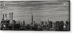 New York Skyline Acrylic Print by Robert Ullmann