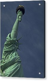 Acrylic Print featuring the photograph New York by Travel Pics