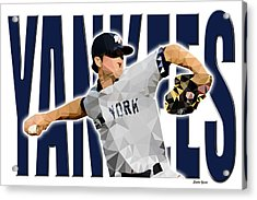 New York Yankees Acrylic Print by Stephen Younts