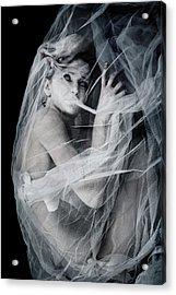 Newborn Nightmare Acrylic Print by Cambion Art