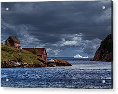 Newfoundland In June Acrylic Print by Janet Ballard