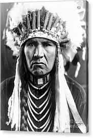 Nez Perce Native American Acrylic Print by Granger