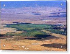 Ngorongoro Crater Tanzania Acrylic Print by Aidan Moran