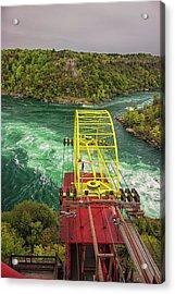 Niagara Cable Car Acrylic Print by Martin Newman