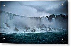Niagara Falls Canada Acrylic Print by Martin Newman