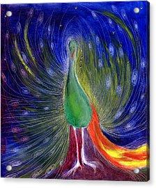 Night Of Light Acrylic Print by Nancy Moniz