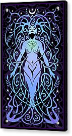 Night Song Acrylic Print by Cristina McAllister