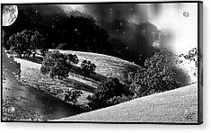 Night Treatment Acrylic Print by Monroe Snook