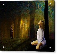 Night Vision Acrylic Print by Van Renselar