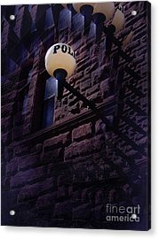Nightly Incarcerations Acrylic Print by The Stone Age