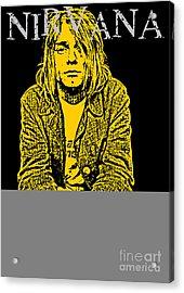 Nirvana No.07 Acrylic Print by Unknow