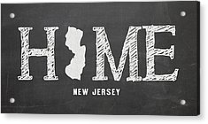 Nj Home Acrylic Print by Nancy Ingersoll