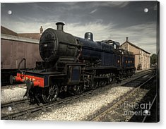 No 88 At Minehead Acrylic Print by Rob Hawkins