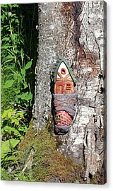 No Place Like Gnome Home I Acrylic Print by Eric Knowlton