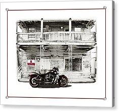 No Trespassing Acrylic Print by Mal Bray