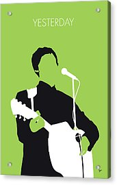 No076 My Paul Mccartney Minimal Music Poster Acrylic Print by Chungkong Art