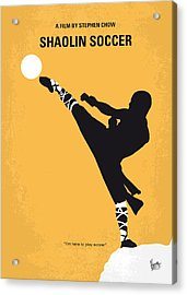 No480 My Shaolin Soccer Minimal Movie Poster Acrylic Print by Chungkong Art
