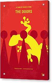 No573 My The Doors Minimal Movie Poster Acrylic Print by Chungkong Art