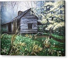 Noah's Place Acrylic Print by Jess Wathen