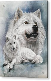Noble Intensity Acrylic Print by Barbara Keith