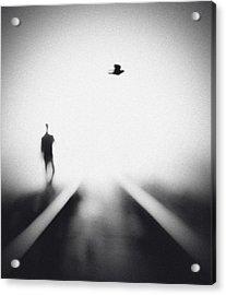 Nocturne Acrylic Print by Hengki Lee
