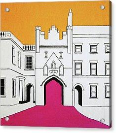 North Bar Acrylic Print by Oliver Johnston