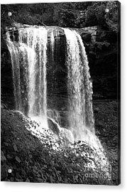 North Carolina Dark Falls Acrylic Print by Julian Bralley