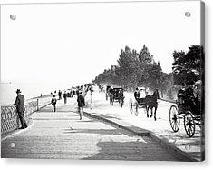 North Lake Shore Drive - Chicago 1905 Acrylic Print by Daniel Hagerman