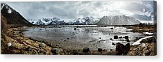 Norwegian Splendor Acrylic Print by Dave Bowman