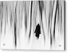 Norwegian Wood  Acrylic Print by Floriana Barbu