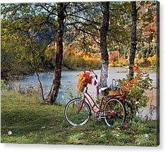 Nostalgia Autumn Acrylic Print by Leland D Howard