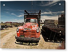 Not In Use Any Longer Acrylic Print by Christian Hallweger