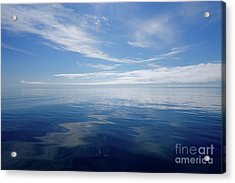 Nothing But Blue Sky Acrylic Print by Sandra Updyke