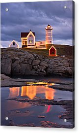 Nubble Acrylic Print by Benjamin Williamson