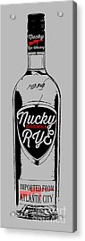 Nucky Thompson Boardwalk Rye Whiskey Tee Acrylic Print by Edward Fielding