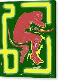 Nude 17 Acrylic Print by Patrick J Murphy